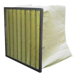 تولید فیلتر پاکتی با راندمان مختلف