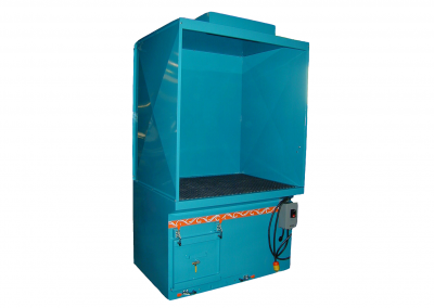 Downdraft Booth with Lighting Option